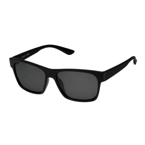 Cancer Council Male Greenhill Black Modern Rectangle Sunglasses