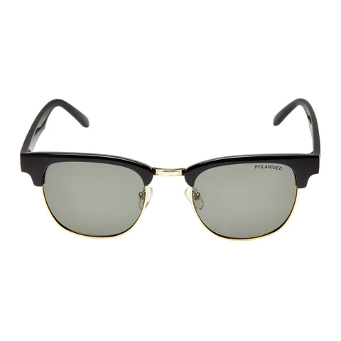 Cancer Council Female Atherton Black Modern Rectangle Sunglasses
