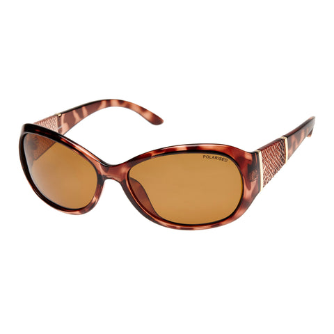 Cancer Council Female Leura Tort Wrap Fashion Sunglasses
