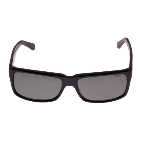 Cancer Council Male Blaxland Black Modern Rectangle Sunglasses