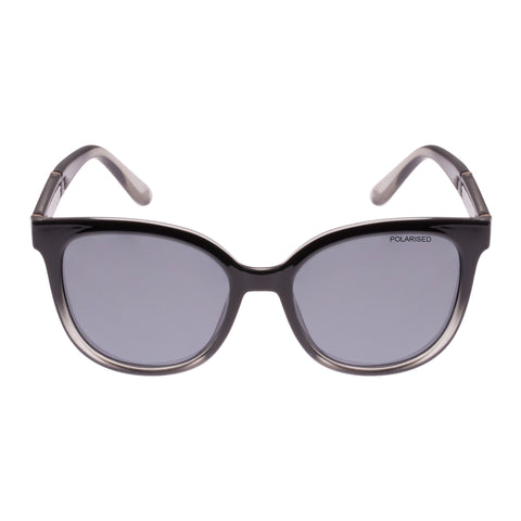 Cancer Council Female Binalong Black Modern Rectangle Sunglasses