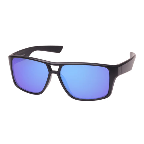 Cancer Council Male Rothbury Black Modern Rectangle Sunglasses