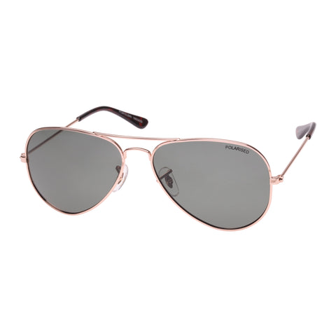 Cancer Council Uni-sex Pokolbin Gold Aviator Sunglasses
