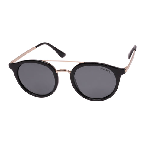 Cancer Council Uni-sex Chiltern Black Round Sunglasses