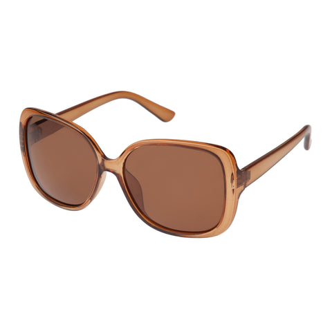Cancer Council Female Pyrmont Brown Square Sunglasses