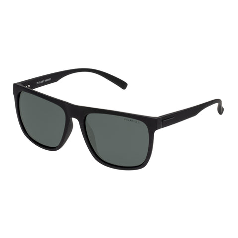 Cancer Council Male Zetland Black Modern Rectangle Sunglasses