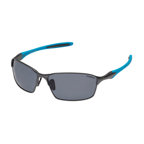 Cancer Council Male Ivanhoe Black Wrap Sport Sunglasses