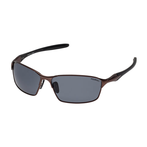 Cancer Council Male Ivanhoe Bronze Wrap Sport Sunglasses