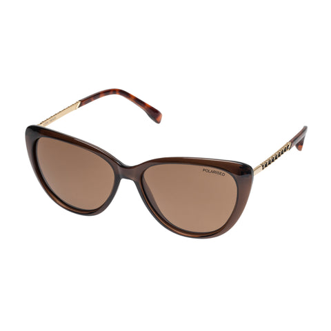 Cancer Council Female Eden Khaki Cat-eye Sunglasses