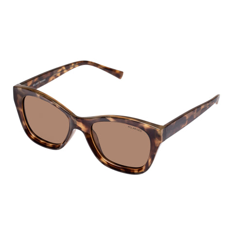 Cancer Council Female Belair Tort Modern Rectangle Sunglasses