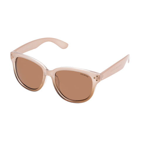 Cancer Council Female Rosetta Tan Modern Rectangle Sunglasses