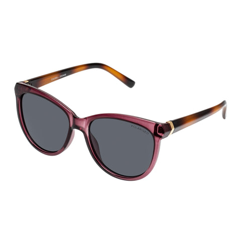 Cancer Council Female Calwell Purple Round Sunglasses