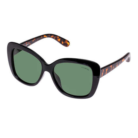 Cancer Council Female Valery Black Butterfly Sunglasses