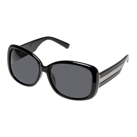 Cancer Council Female Sabine Black Wrap Fashion Sunglasses