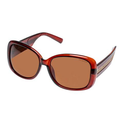 Cancer Council Female Sabine Red Wrap Fashion Sunglasses