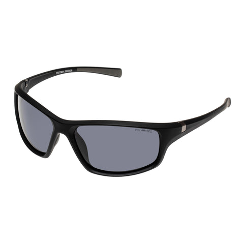 Cancer Council Male Tacoma Black Wrap Sport Sunglasses