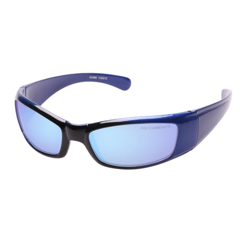 Cancer Council Male Shark K Blue Wrap Sport Sunglasses