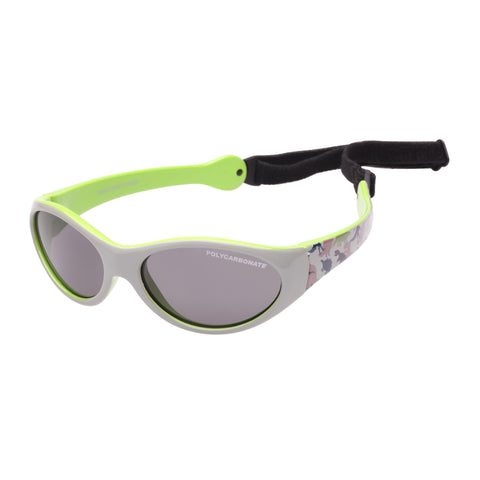 Cancer Council Male Koala I Cc100 Grey Oval Sunglasses