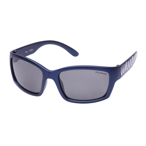 Cancer Council Male Seal K Navy Wrap Sport Sunglasses