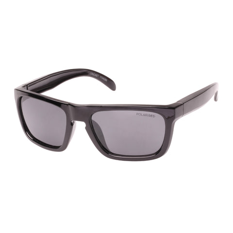 Cancer Council Male Cricket T Black Modern Rectangle Sunglasses