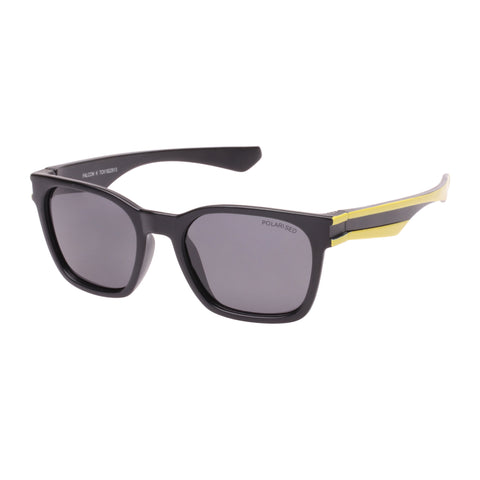 Cancer Council Male Falcon K Black Modern Rectangle Sunglasses