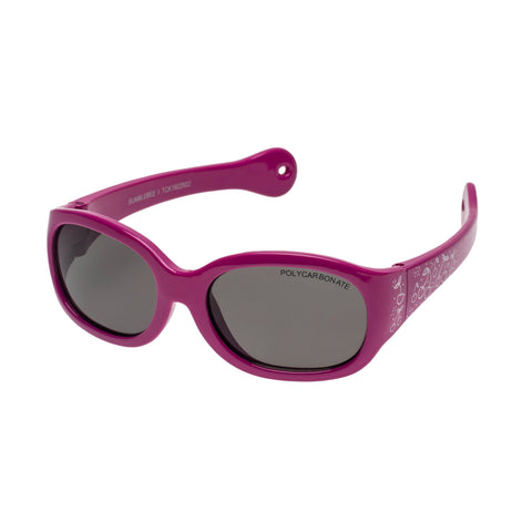 Cancer Council Uni-sex Bumblebee I Pink Rectangle Sunglasses