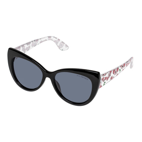 Cancer Council Female Quoll K Black Cat-eye Sunglasses