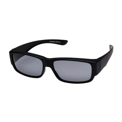 Cancer Council Male Richmond Black Modern Rectangle Sunglasses