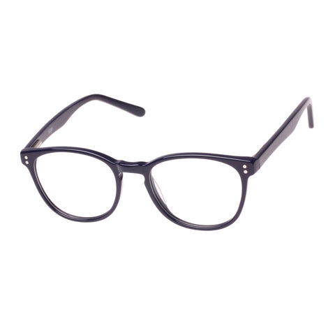 Village Female Twa6076 C3 Blue Round Optical Frames