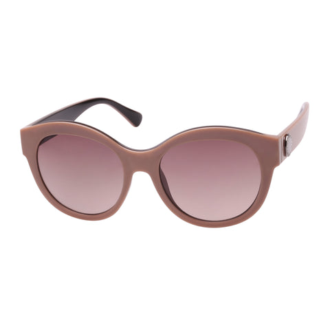 Witchery Female Casey Brown Wrap Fashion Sunglasses