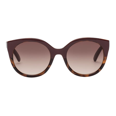 Witchery Female Mary Anne Burgundy Cat-eye Sunglasses