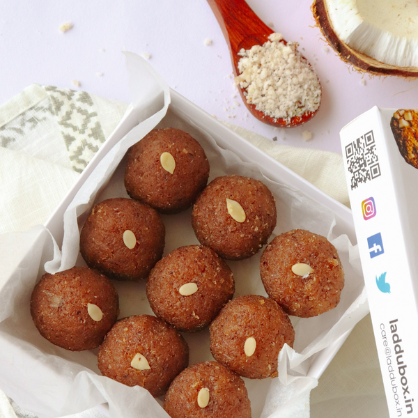 Coconut Laddu - Box of 9