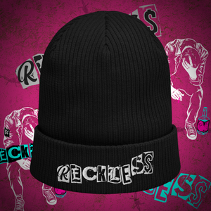 Reckless ribbed beanie