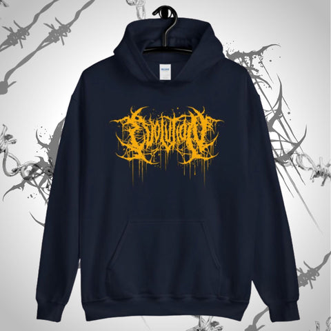 Brutal Evolution Unisex Navy Blue Hoodie