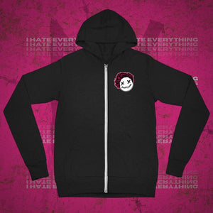 I Hate Everything Zip Up Hoodie