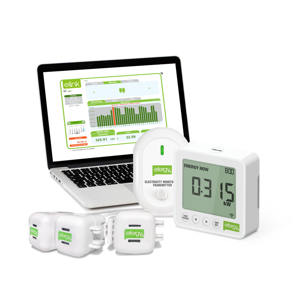 Efergy E2 Power Monitor E2C-3CT 3 Phase