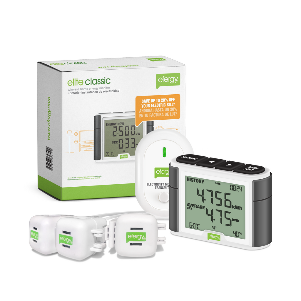 Efergy Elite Classic -3 PHASE  energy monitor ELC-CT-3PHXL