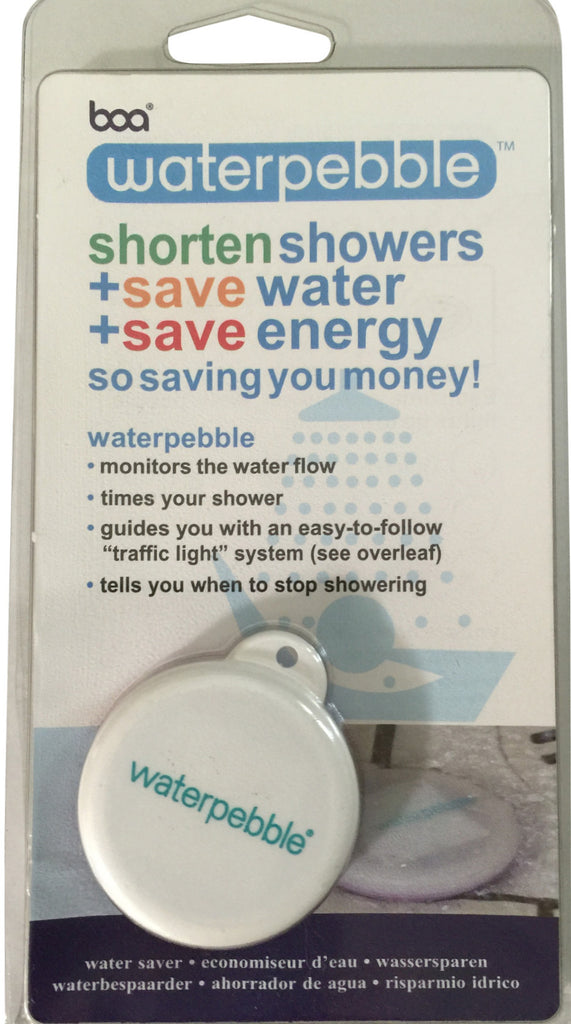 Waterpebble shower timer
