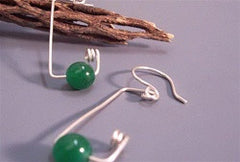 Green Lines Earrings - Florida Eco Products
