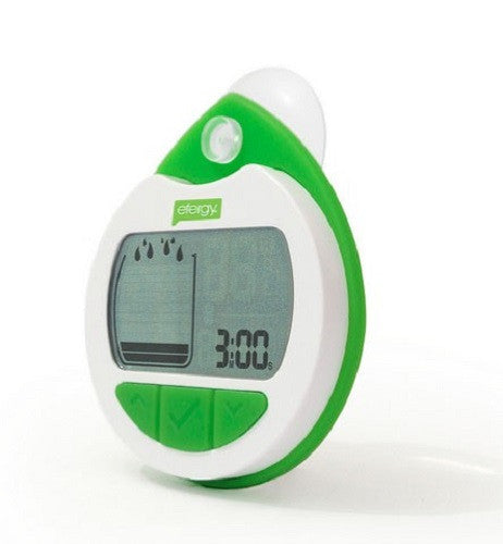 Efergy Shower timer with audible and visual alarm