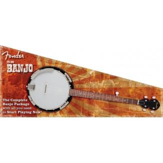 Fender FB300 Banjo Pack Instrument Penwarden Music