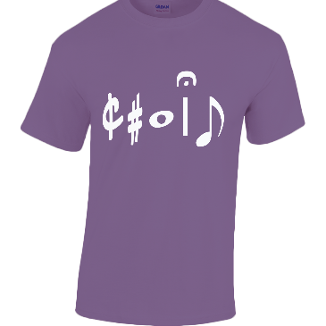 "Men's Heavy Cotton Music T-Shirt ""Choir"" Clothing Penwarden Music"