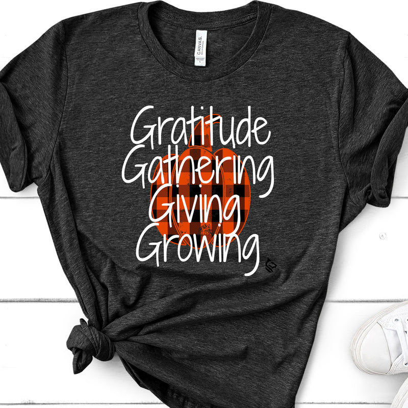 4000  THE 4 G'S OF THANKSGIVING - GRATITUDE, GATHERING, GIVING AND GROWING