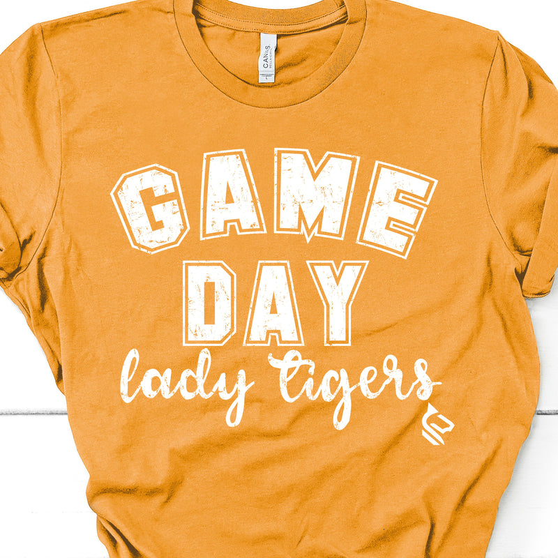 Game Day Mascot YELLOW Tees