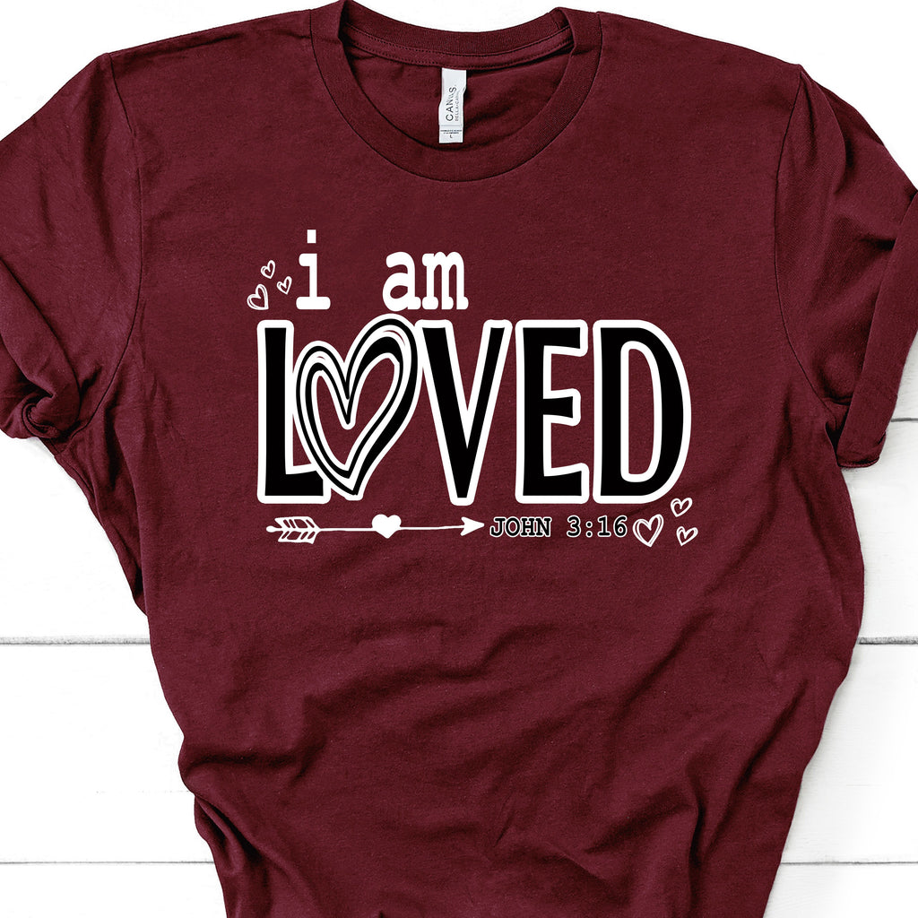 3006 I AM LOVED JOHN 3:16