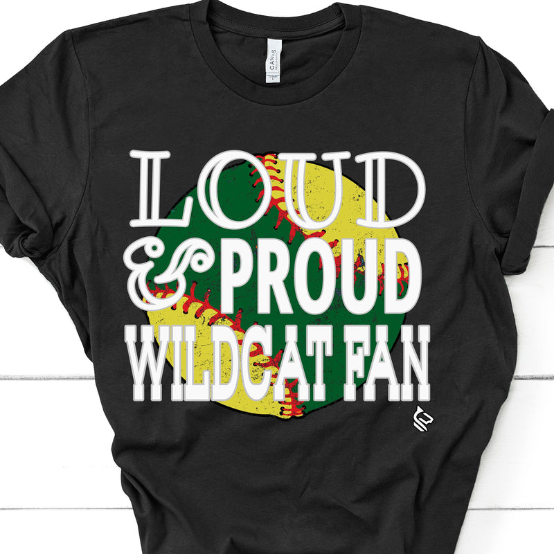 LOUD AND PROUD BASEBALL FAN