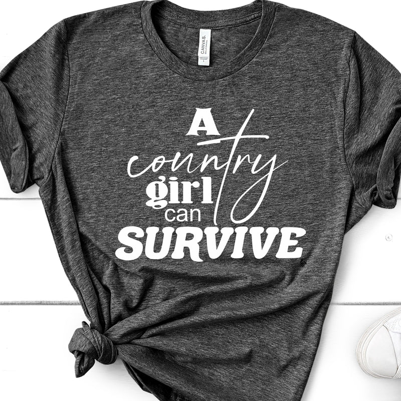 8012 A COUNTRY GIRL CAN SURVIVE