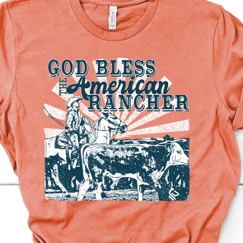 5039 GOD BLESS THE AMERICAN RANCHER