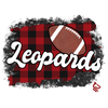 Buffalo Plaid Mascot Football - 13 MASCOTS