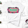 RODEO MOMMA - PINK AND MINT AZTEC